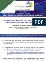 Apresentação no IV Congresso CONSAD de Gestão Pública 2011