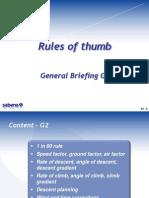 G2 - Rules of Thumb