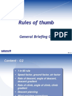 G2 - Rules of Thumb