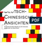 Deutsch Chinesische Ansichten