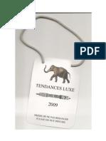 Rapport Luxe Duringer Treize Janvier 2009