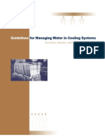 Managing Water in Cooling System