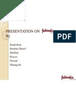 Presentation on Fabindia