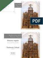 Presentación_Retablo Mayor_ Horna (Burgos)_Batea_2012
