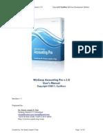 WCAP 2011 - User's Manual