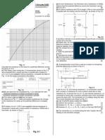 D.C Circuits Class Test