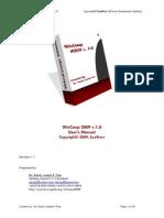 WinCoop 2009 User's Manual