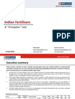 HDFC Sec Inst Research- Indian Fertilisers- A 'Complex' Mix