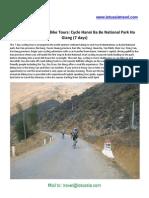 Cycling Vietnam Hanoi Ba Be National Park Ha Giang (7 days)