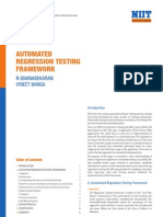 Paper AutomationRegressionTesting