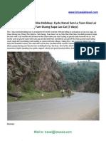 Cycling Vietnam Hanoi Son La Tuan Giao Lai Chau Tam Duong Sapa Lao Cai