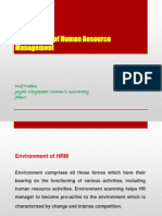Environment of HRM