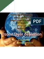 ozone layer depletion xom
