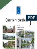 EXA _présentation des quarties durables en Europe _areneiddf2005