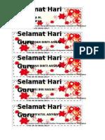 Bookmark Hari Guru