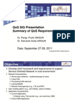 Summary of QoS Requirements