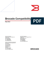 Brocade Compatibility Matrix