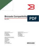 Brocade Compatibility Matrix