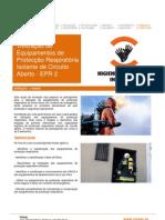 Utilização Equipamentos Protecção Respiratória Isolante Circuito Aberto - EPR - 7 horas