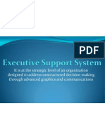 01 Executive Support System MIS