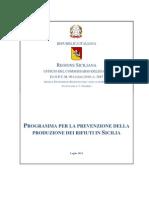 Programma Prevenzione Rifiuti in Sicilia24 Luglio 2012
