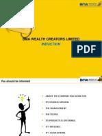 Induction Module - BMA_Wealth_Creators