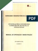 Manual de Operação da Barragem de Juturnaiba