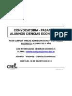 2012-8 CONVOCATORIA Alumnos CsEc