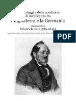 1846 Friedrich List's Last Paper