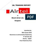 Project Report Airtel