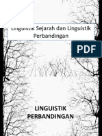 Linguistik Sejarah Dan Linguistik Perbandingan