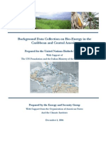 CARCA, Background Data Collection on Bio-Energy in the Caribbean and Central America, 12-2006