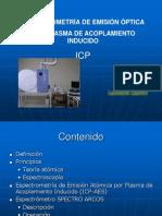 Espectrometria de ICP - Operación de ICP-SPECTRO ARCOS