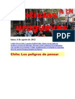 Noticias Uruguayas Lunes 6 de Agosto Del 2012