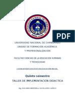 Modulo Implementacion Didactica