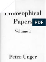 Unger Philosophical Papers Vol 1 OCRed