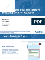Cost REduction and Improve Efficiency With Virtualization