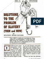 Solutions to the Problem of Slavery (Then and Now) - Black World July 1970