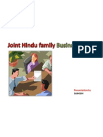 Joint Hindu Family Business 1
