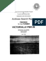 Victorville Bombing Range No. 9