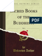 Sacred Books of the Buddhists v1 1000036225