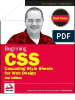 Cascading Style Sheets for Web Design