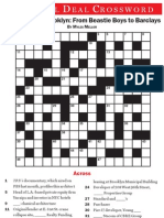 The Real Deal June 2012 Crossword