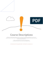 sr4 Course Descriptions
