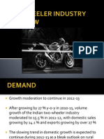 Two Wheeler Industry Overview
