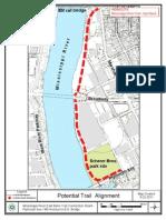 Minneapolis Park Board proposed trail