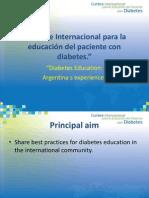 """""""Cumbre Internacional para la educación del paciente con diabetes."""""""