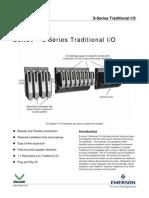 DeltaV PDS S-Series Traditional IO