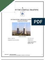 Training Report Npcil Rapp Rawatbhata