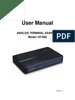 User Manual 882 r1.1
